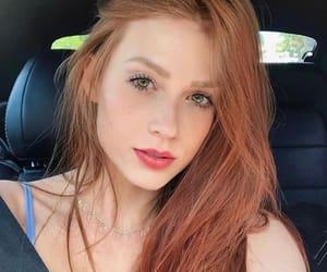 beauty, hair, and ruivas image