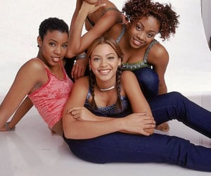 beyoncé, destiny's child, and kelly rowland image