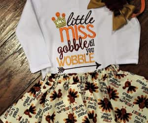 etsy, thanksgiving outfit, and gobble wobble shirt image