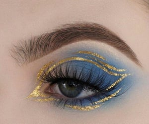 aesthetic, eye, and makeup image
