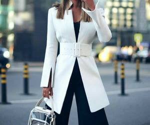 black, sophisticated, and chic image