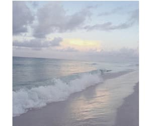 ocean, pastel, and aesthetic image