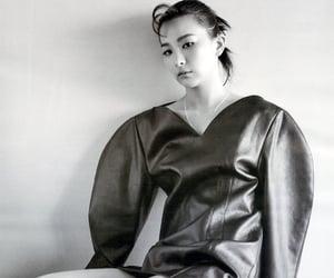black, kpop, and magazine image