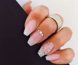 fashion, nails, and painted nails image