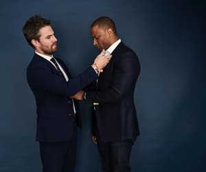 actor, spartan, and oliver queen image
