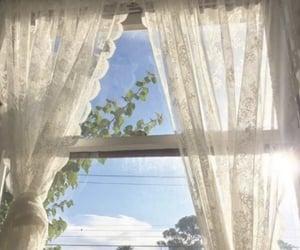 aesthetic, sky, and window image