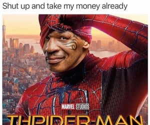 funny, spiderman, and humor image
