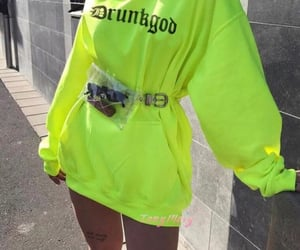 fashion, neon, and style image