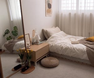 interior, bedroom, and room image