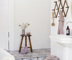 bathroom, design, and grey image