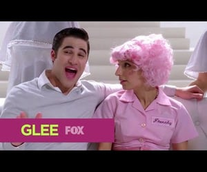 glee, video, and youtube image