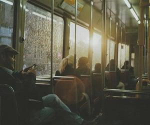 vintage, bus, and people image