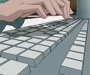 cartoon, computer, and code lyoko image