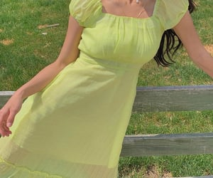 clothing, lime green, and pale image