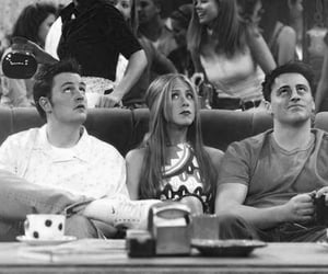 friends, chandler bing, and Jennifer Aniston image