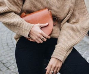fall, fashion, and sweater image