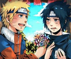 naruto, sasuke, and yaoi image