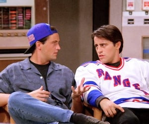 friends, 90s, and chandler bing image