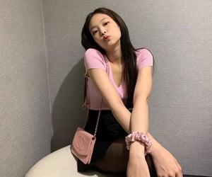 girl, korean girl, and kiss you image