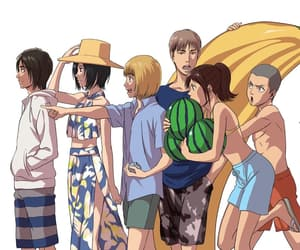 jean, armin, and attack on titan image