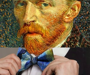 art, photoshop, and van gogh image