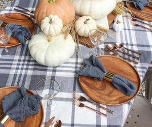 decorating, fall decorating, and diy image