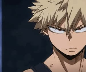 anime, bakugou, and bnha image