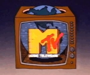 mtv and vintage image