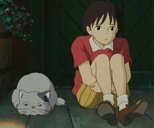 anime, studio ghibli, and mimi wo sumaseba image