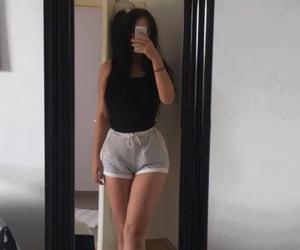 black, black hair, and body image