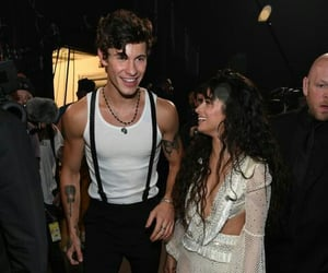 couple, camila cabello, and shawn mendes image
