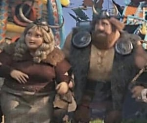 dreamworks, astrid hofferson, and hiccstrid image