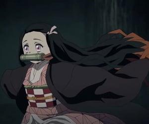 demon slayer, kimetsu no yaiba, and anime girl image