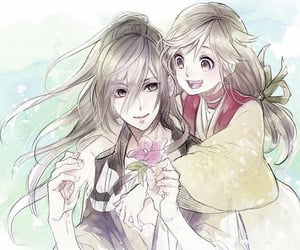 couple, flower, and cute couple image