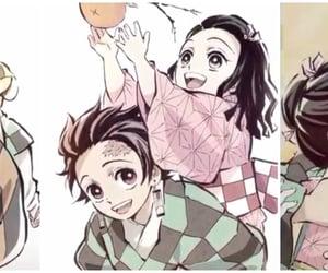 family, cute, and kimetsu no yaiba image