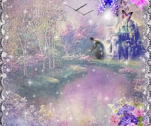 birds, butterflies, and flowers image