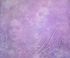 Adele, flowers, and white image