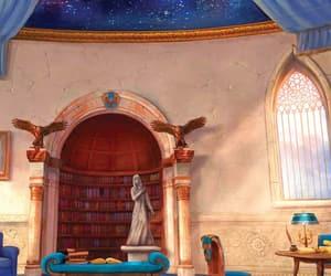 drawing, hogwarts, and magic image