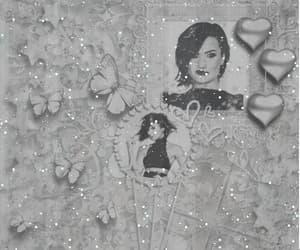 butterflies, glitter, and singer image