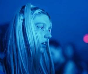 aesthetic, blue, and euphoria image