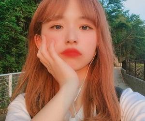 aesthetic, korean girl, and selca image