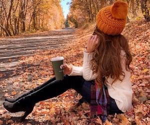 autumn, autumn colors, and cocoa image