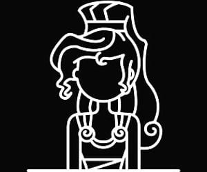 disney, princess, and megara image
