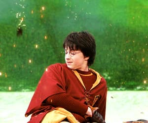 aesthetic, daniel radcliffe, and quidditch image