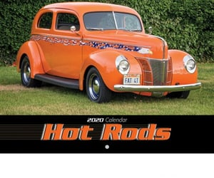hot rod calendar image