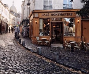 city, aesthetic, and cafe image