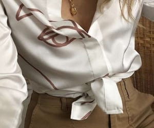 fashion, blouse, and chic image