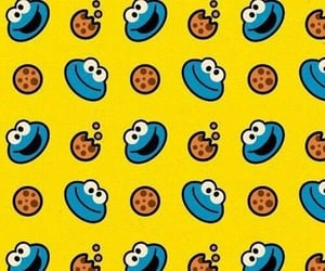 cookie monster, patterns, and wallpaper image