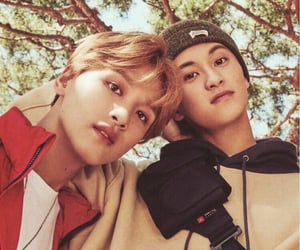 mark, donghyuck, and nct image