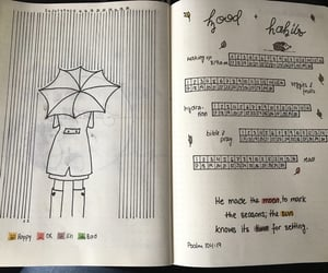 autumn, bible, and doodle image